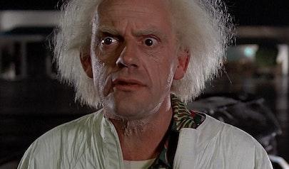 """Dr. Emmett """"Doc Brown"""" Brown photo"""