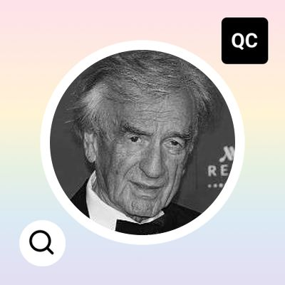 elie wiesel why i write making no become yes Get an answer for 'what was elie wiesel's purpose in writing night ' and find homework help for other night questions at enotes  he had become nothing more than a stomach  elie wiesel .
