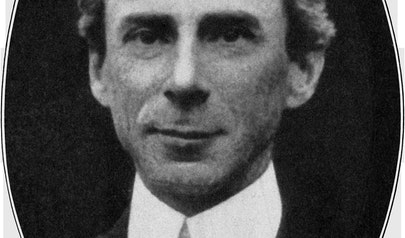 Bertrand Russell photo