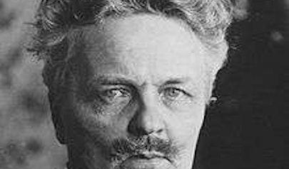 August Strindberg photo