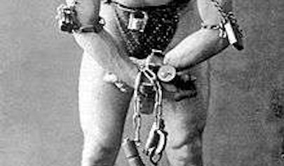 Harry Houdini photo