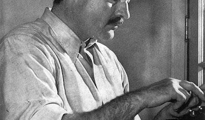 Ernest Hemingway photo