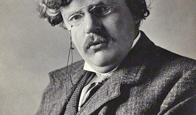 G.K. Chesterton photo