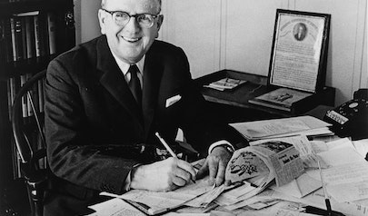Norman Vincent Peale photo
