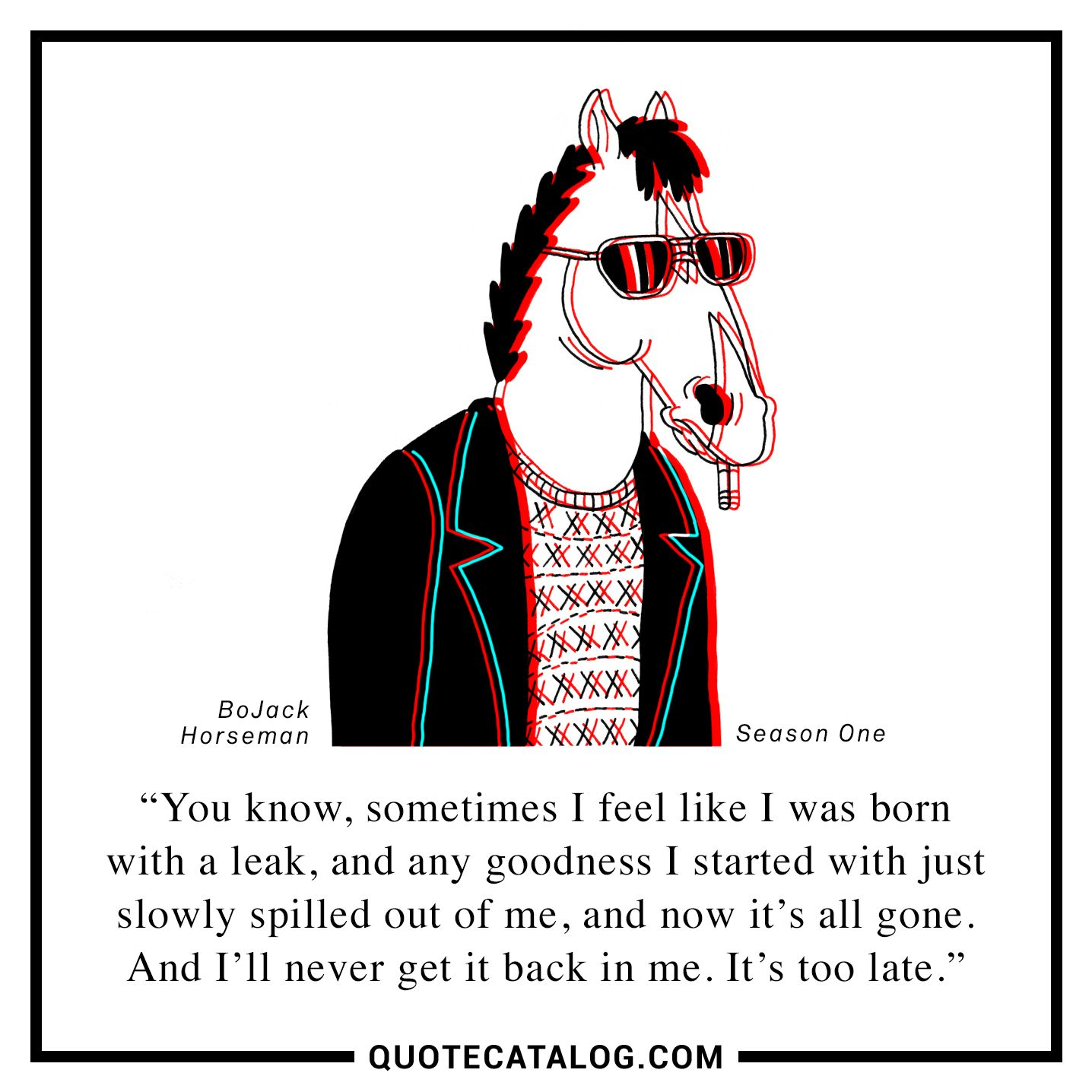 Will Arnett As Bojack Horseman Quote You Know Sometimes I Feel