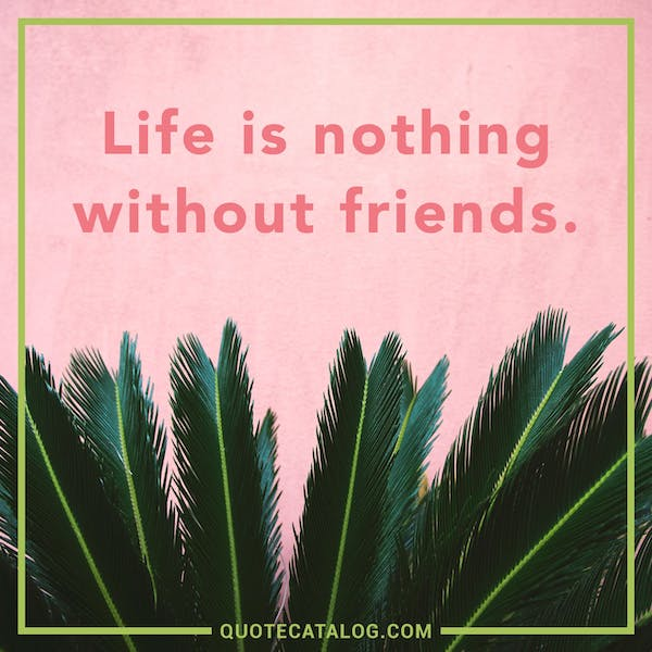 Without U My Life Is Nothing Quotes: The 50 Best Quotes About Friendship