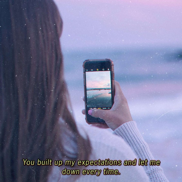 You built up my expectations and let me down every time. — Silverstein
