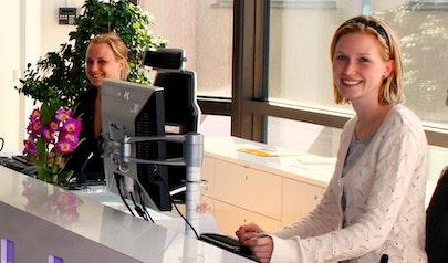 Receptionist photo