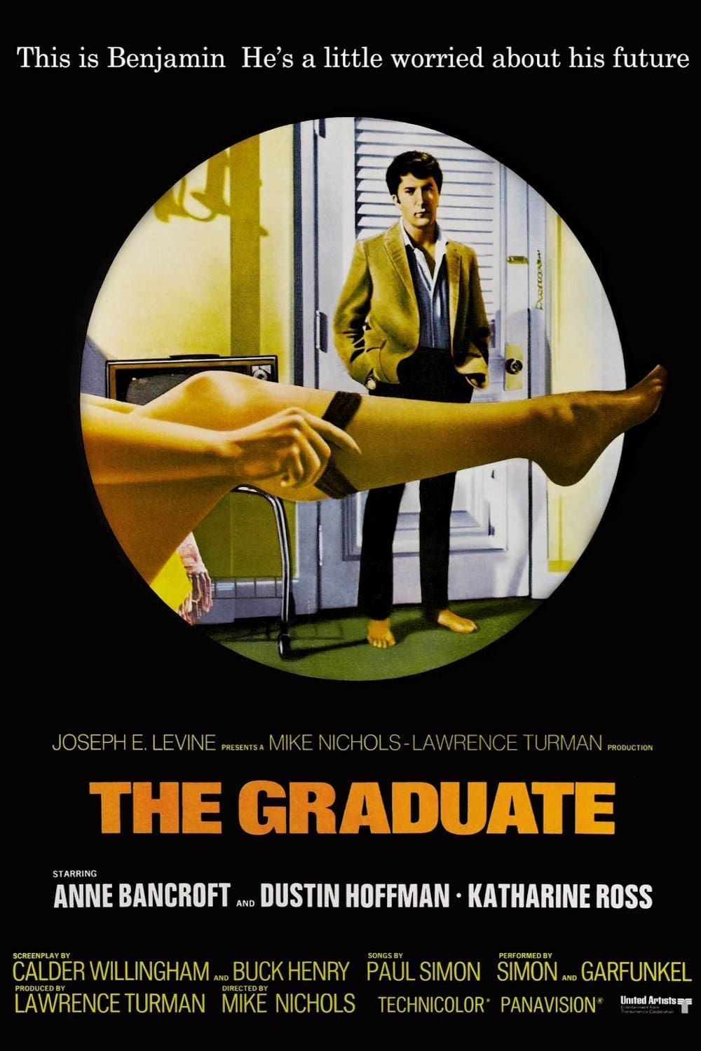 Words related to The Graduate Quote artwork Mrs Robinson are you Poster