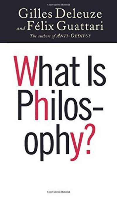 What Is Philosophy? (European Perspectives: A Series in Social Thought and Cultural Criticism)