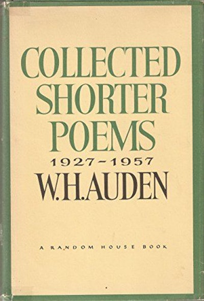 Collected Shorter Poems, 1927-1957