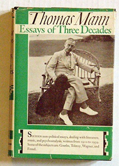 Essays of Three Decades