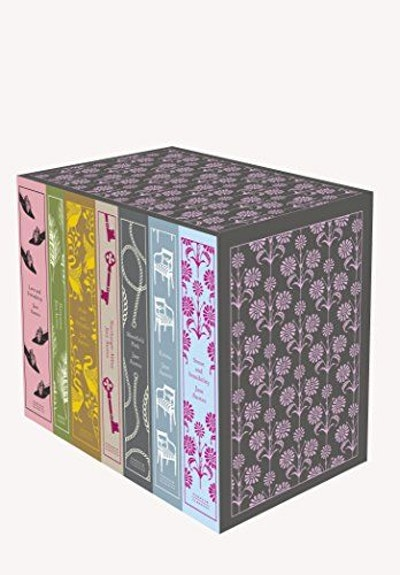 Jane Austen: The Complete Works: Classics hardcover boxed set (A Penguin Classics Hardcover)
