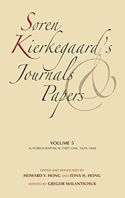 Søren Kierkegaard's Journals and Papers