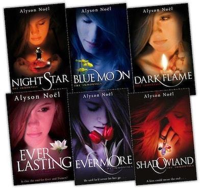 The Immortals Series 6 Books Collection Set Alyson Noel Everlasting, Night Star