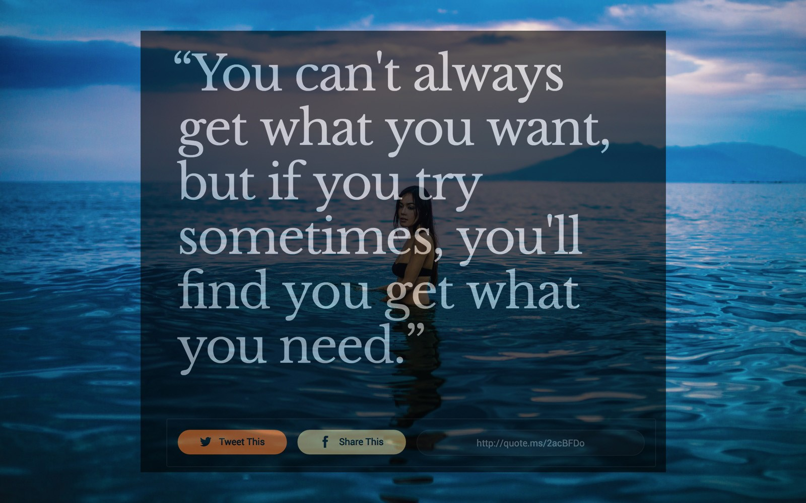 17 Poignant Quotes You Need When You Dont Get What You Want Quote