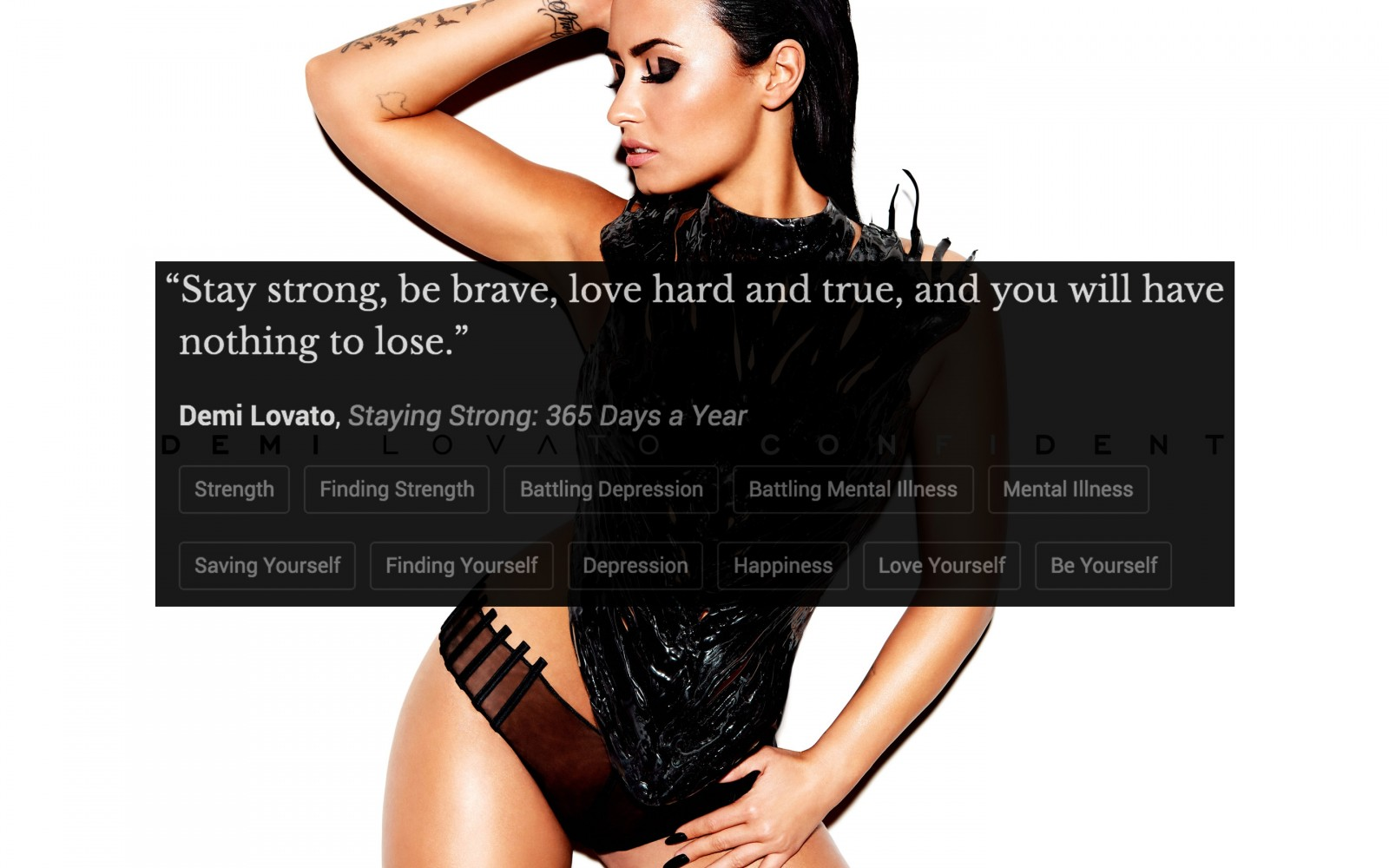 40 Powerful Demi Lovato Quotes To Help You Find The Strength To Face Another Day
