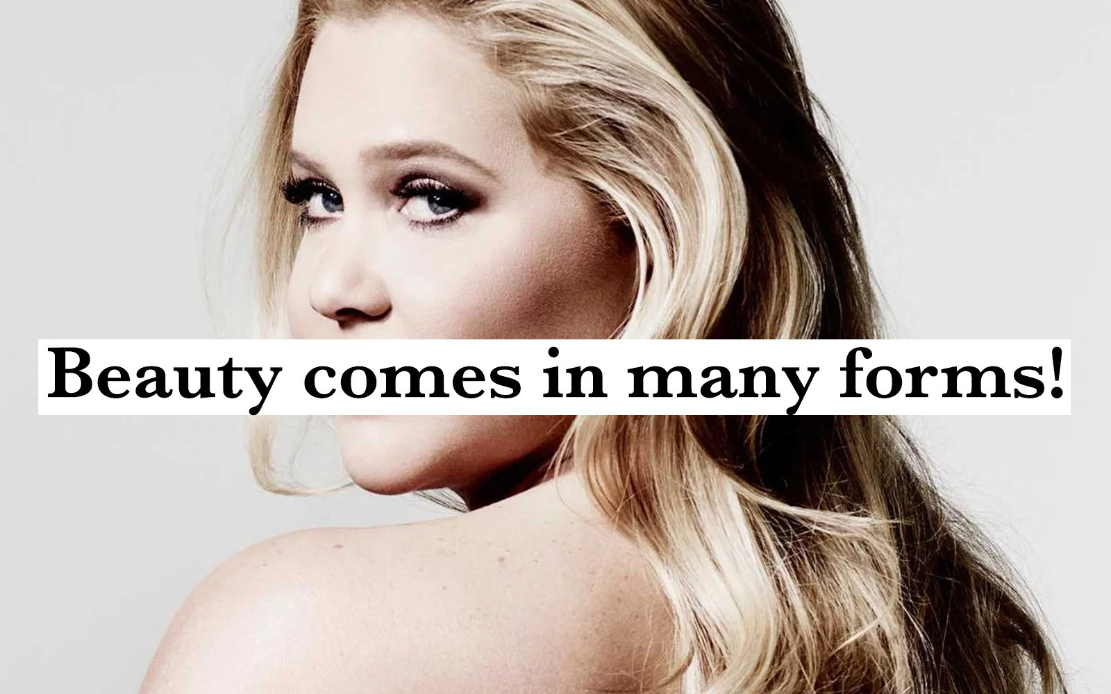 18 Amy Schumer Quotes That Prove She's Much More Than Just A Funny Girl With The Lower Back Tattoo
