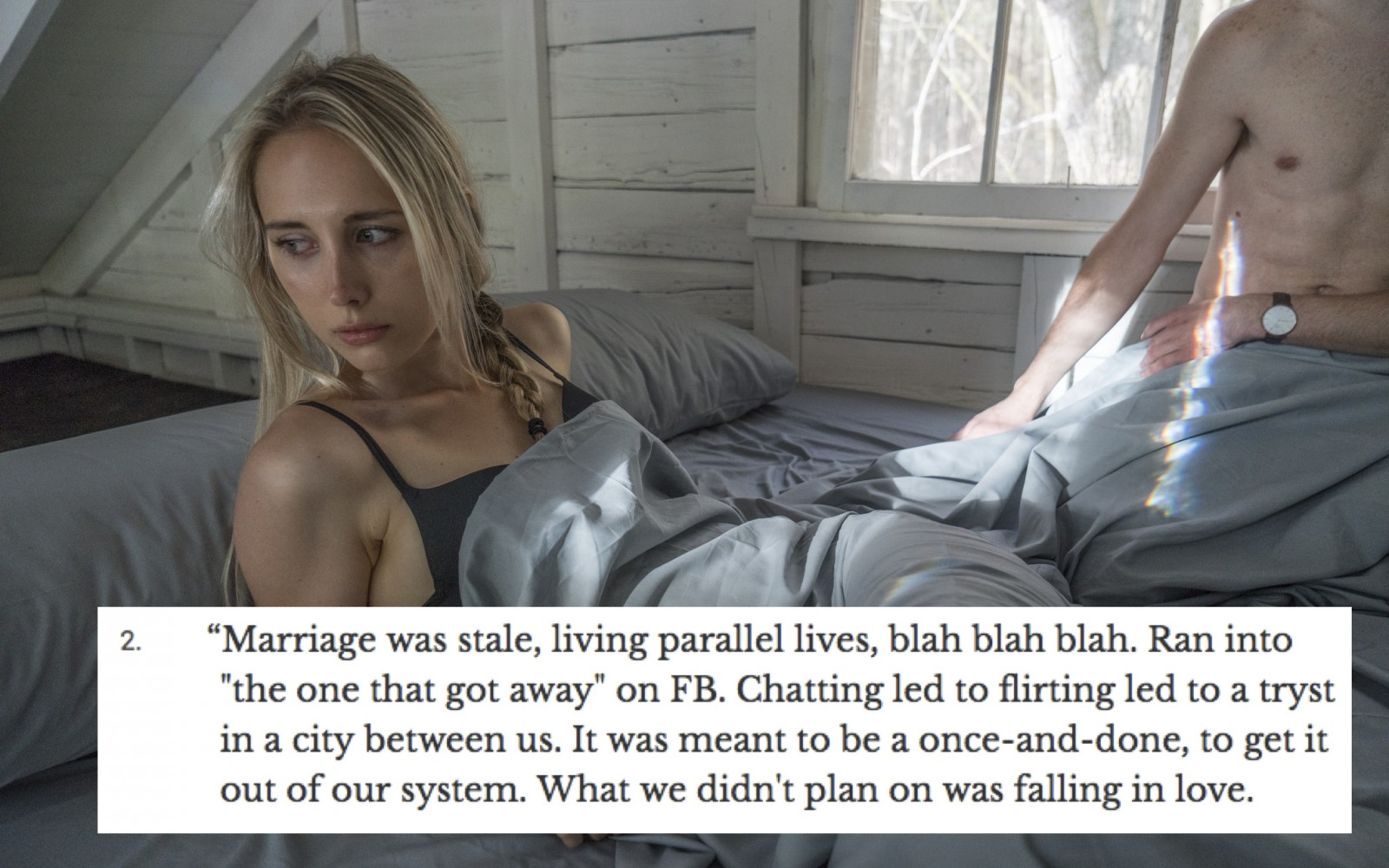 22 Married Men And Women Who Left Their Partner For Someone Else Reveal How Exactly It Worked Out