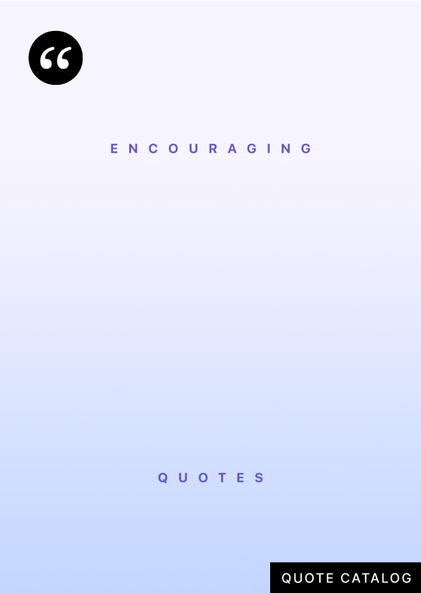 Cover image for Encouraging Quotes