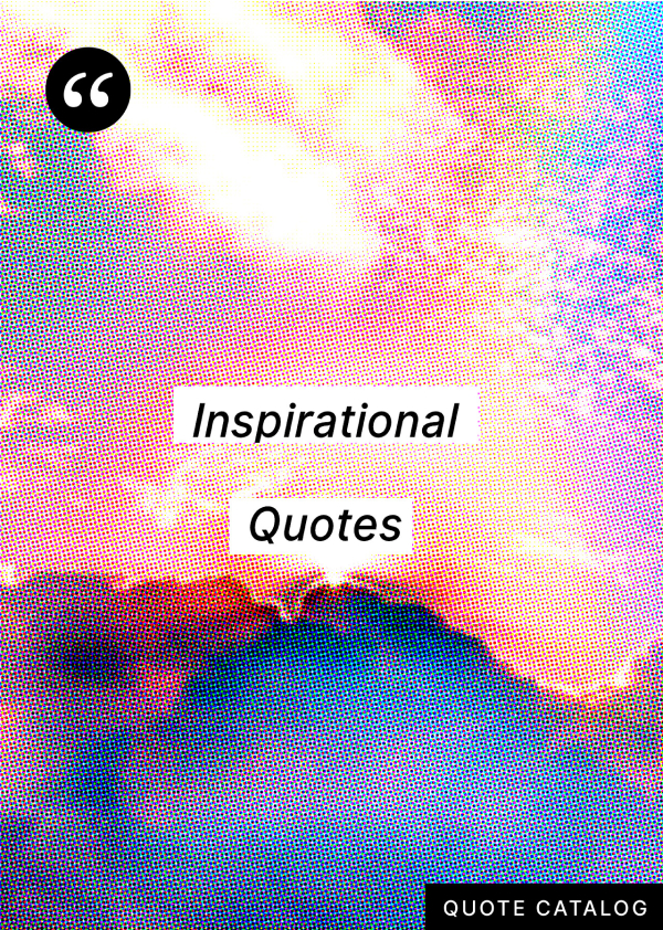 Cover image for Inspirational Quotes