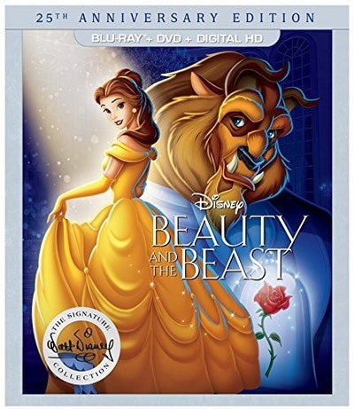 Beauty and the Beast: 25th Anniversary Edition - (BD+DVD+DIGITAL HD) [Blu-ray]